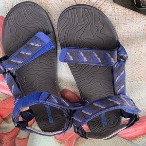 Teva  Hurricane Sandals in Navy Blue